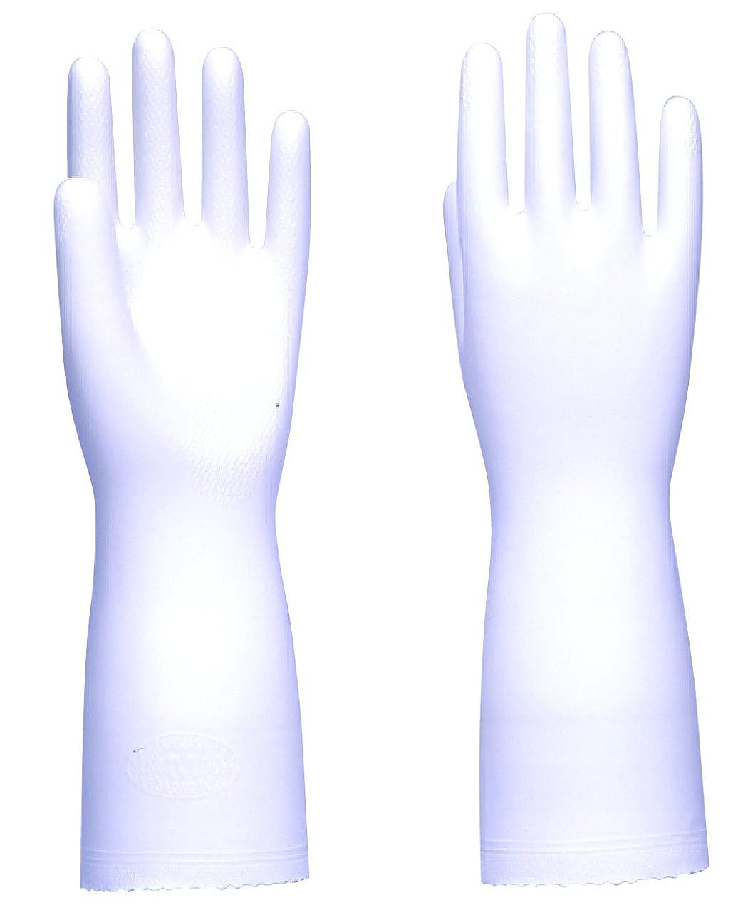 取り替えるやさしく干し草東和コーポレーション 《掃除用手袋》 ソフトエース ホワイト Mサイズ No.758