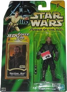 Hasbro Star Wars Power of The Jedi Training Gear Qui-Gon Jinn Figure