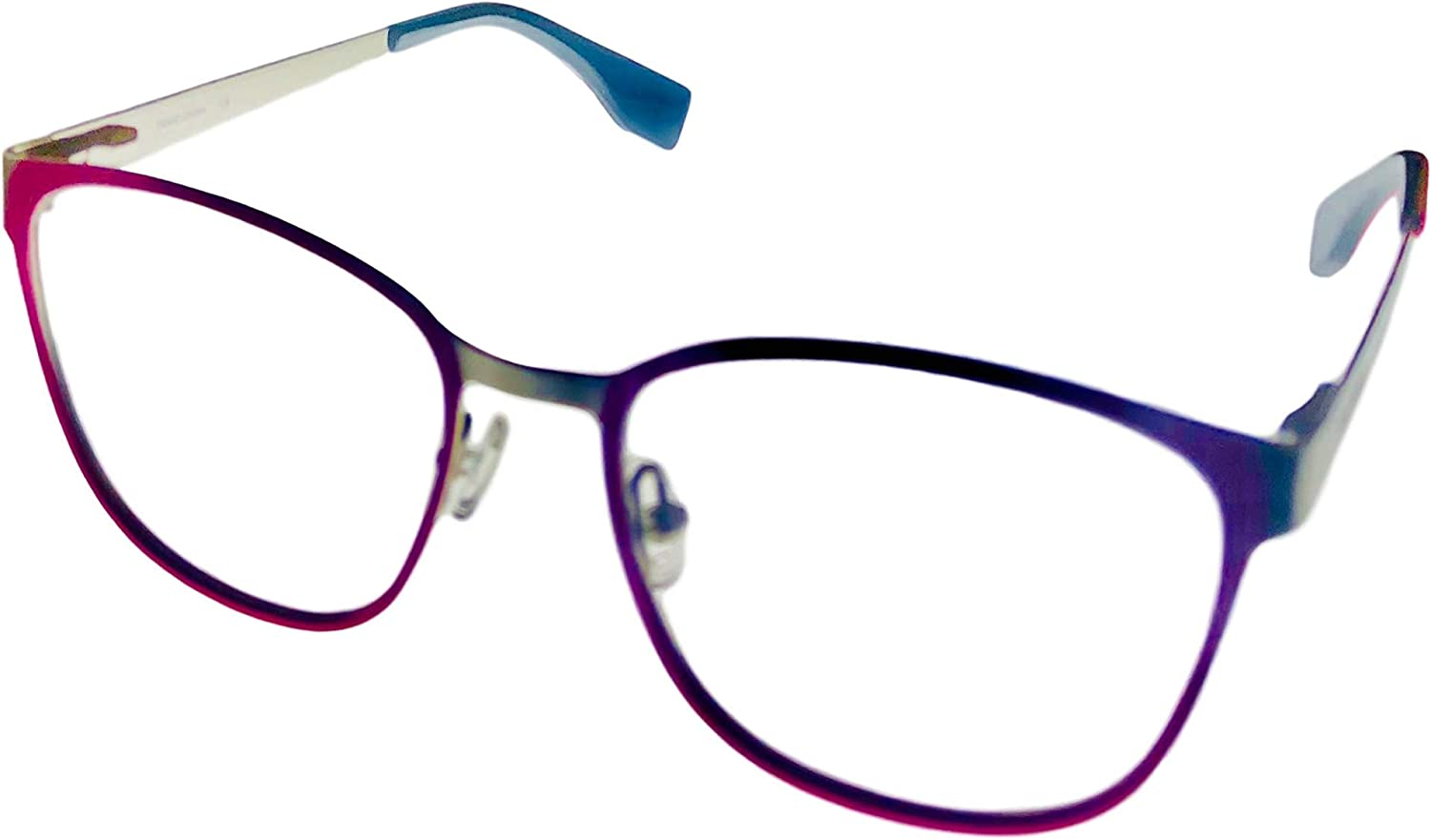 Converse Womens Max 86% OFF Soft Square Metal Eyewear 52mm Frame A221 Pink S Tulsa Mall