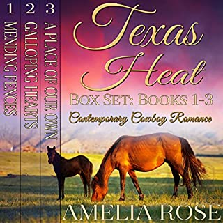 Texas Heat Box Set audiobook cover art