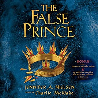The False Prince audiobook cover art