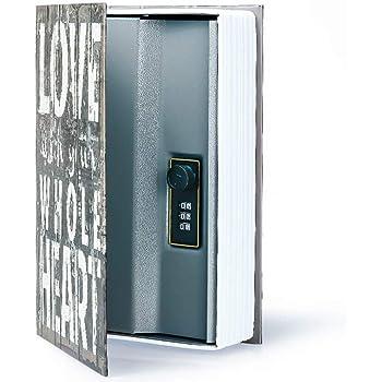 Caja de Seguridad Libro para Poner Joyas, Monedas, Dinero, Objetos ...
