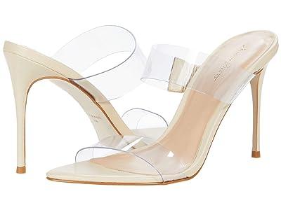 Massimo Matteo Vinyl Strapped Sandal (Butter) Women
