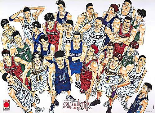POSTER STOP ONLINE Slam Dunk - Manga / Anime Poster (Size 35' x 25')