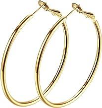 Best gold hoops medium Reviews