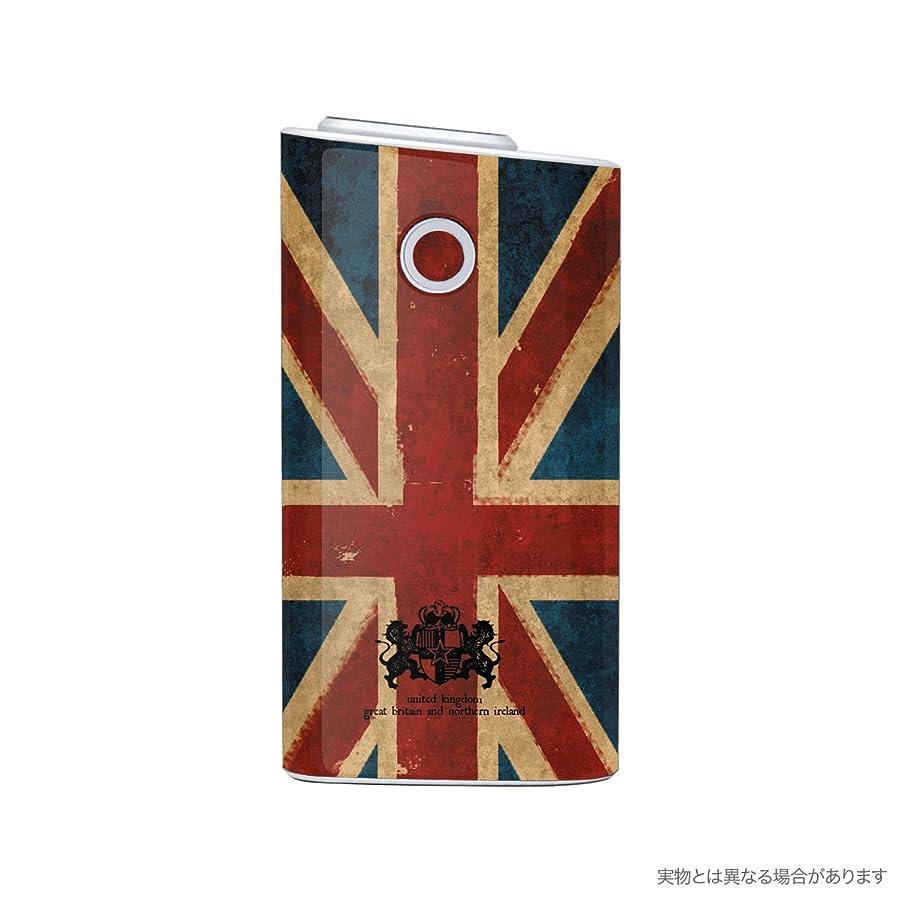 コショウ略奪破壊的なBiijo グロー シール glo スキンシール 全面対応 ユニオンジャック 国旗 (C.ヴィンテージ)