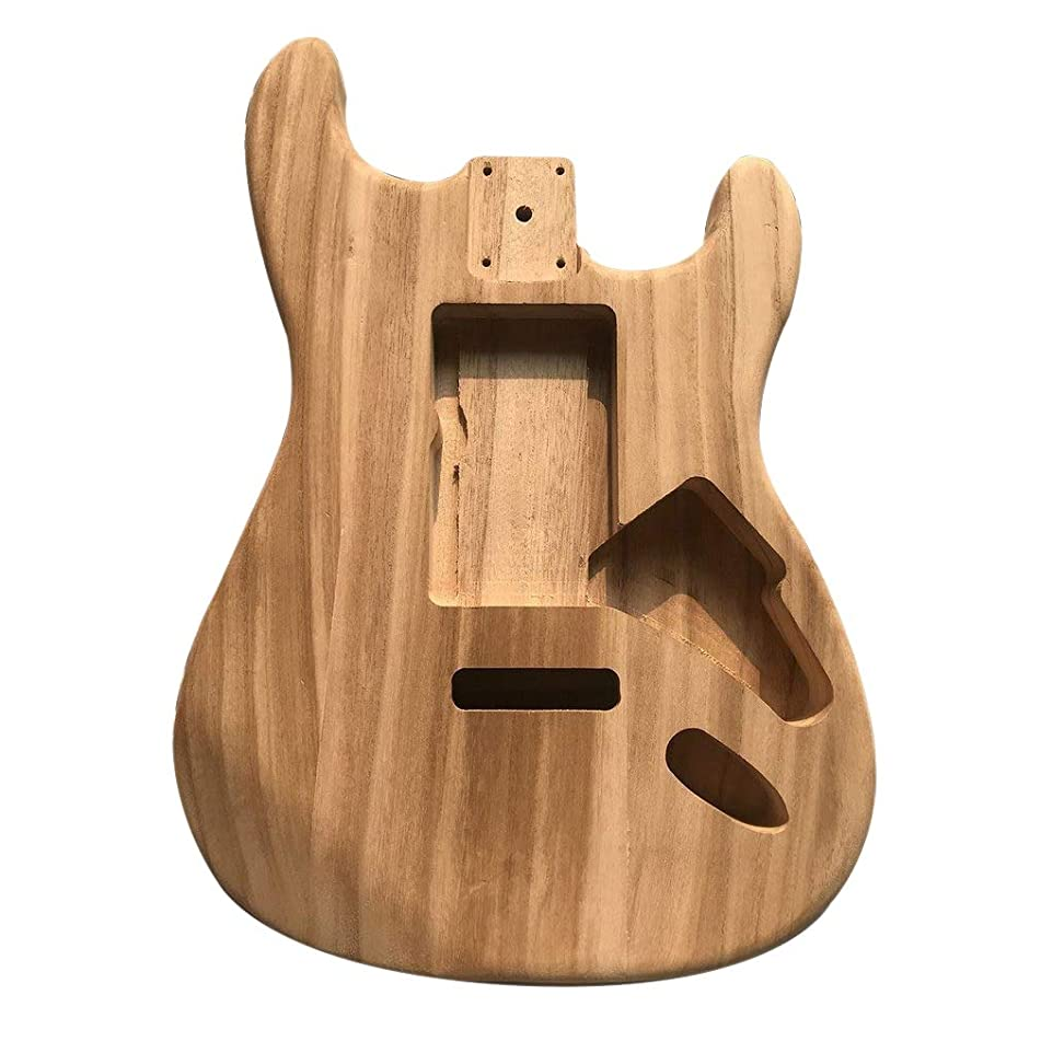 Unfinished DIY Guitar Body Maple Body For ST Style Guitar ST Electric Guitar Body Alderwood Guitar DIY Accessory Hot Sale