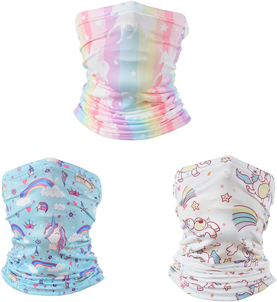Kids Neck Gaiter UV Protection Bandanas Face Don't El Paso Mall miss the campaign Boys Scarf for