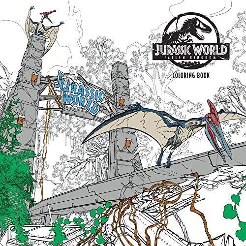Jurassic World Fallen Kingdom Adult Coloring Book product image