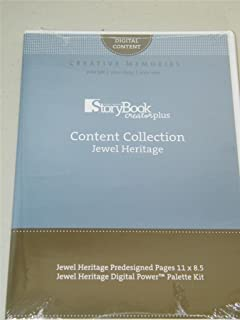 StoryBook Creator Plus Content Collection Jewel Heritage NEW 8005