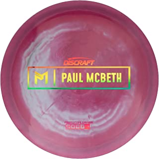 Discraft Limited Edition Paul McBeth Signature Prototype ESP Anax Distance Driver Golf Disc [Colors May Vary]