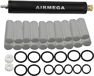 UP100® High Pressure PCP Hand Pump air Filter Oil-Water Separator for High Pressure pcp 40mpa/400bar/6000psi Air Pump (Black)