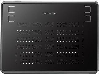 Huion H430P ペンタブレット 4.8 x 3インチ Android6.0以上対応 携帯・スマホで使えるペンタブ 4096レベル筆圧 充電不要ペン 4個ショートカットキー 小型ペンタブ お描き osuゲーム用 初心者向け