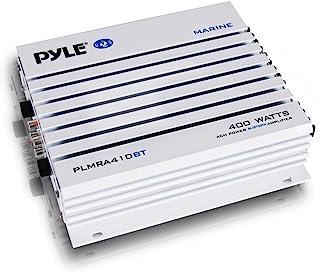 Pyle PLMRA210BT Elite Series Waterproof Bluetooth Amplifier (400 Watt 2-Channel Bridge Ability Marine Amp) 400 Watt PLMRA4...