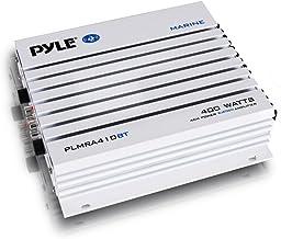 Pyle 2.1 Bluetooth Marine Amplifier Receiver – Waterproof 4 Channel Wireless..
