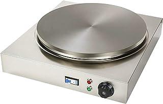 Kommersiell pannkaka och crepe maker LPG eller 220V stekning Non-Stick Rostfritt stål Elektrisk naturgas Crepe Maker Pan f...