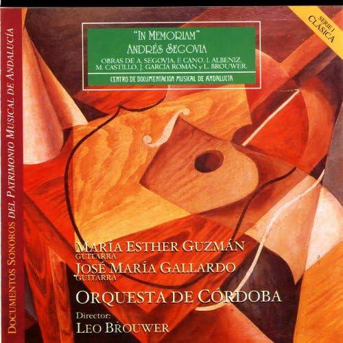 Orquesta De Cordoba, María Esther Guzmán, Jose Maria Gallardo & Leo Brouwer