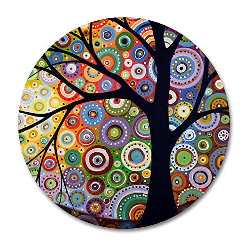 Tree of Life Round Mouse pad by Smooffly,Tree of Life 7.87in x 7.87in Personality Desings Gaming Mouse Pad Style