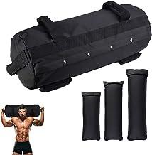 TALEEKEU Workout Fitness Sandbag, Sandbags zijn Heavy Duty, Verstelbare Zandzakken, oefening zandzakken, zandzakken fitnes...