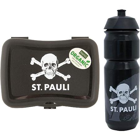 FC St Pauli Totenkopf Trinkflasche Tritan Wasserflasche 0,75 L