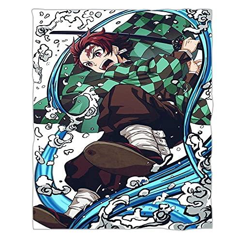 Manta De Impresión Digital De La Manta De La Manta del Terciopelo De La Brida, La Manta De La Cubierta del Hogar De La Pelusa del Algodón Shu, La Cuchilla Fantasma-F-Gmzr37_130 * 150 Cm