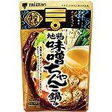 ミツカン ミツカン 〆まで美味しい 地鶏味噌ちゃんこ鍋つゆ ストレート(750g)