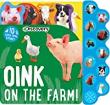 Best Books For Babies Animal Sounds - Discovery: Oink on the Farm! (10-Button Sound Books) Review
