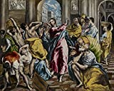 Spiffing Prints EL Greco - The Purification of The Temple -