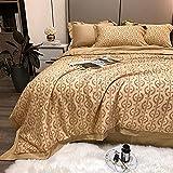 Manta de Microfibra Color sólido, Extra Suave Mantas para Sofás, Multifuncional para sofá, Cama, Viajes, Adultos, niños -Letra t-Camel_150x200cm2 kg
