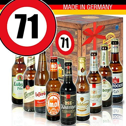 DDR Bierbox - Zahl 71 - Geschenk Idee Mutter - Bier Box