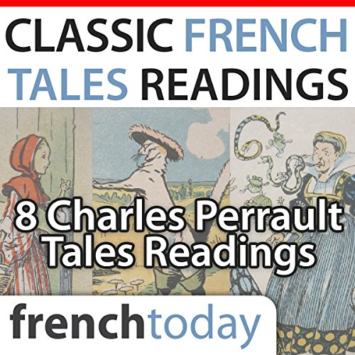 Classic French Tales Readings audiobook cover art