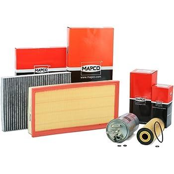 Dichtung Inspektionspaket Wartungspaket Filterset 1 x Kraftstofffilter 1 x Innenraumfilter mit Aktivkohle 1 x Luftfilter 1 x /Ölfilter 1 x /Ölabla/ßschraube inkl