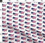 Amerikanische Flagge, Usa, Amerika, Patriotisch,