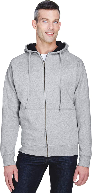 UltraClub 贈物 Men's 2020秋冬新作 Rugged Wear Hoody Thermal-Lined Full-Zip
