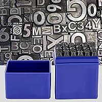 レターパンチセット、DIYレタースタンプ、マークパンチセット、レザーウッド用炭素鋼6mm