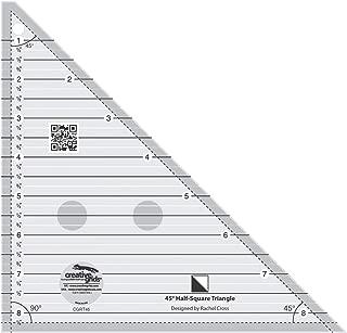 creative grids half square triangle ruler