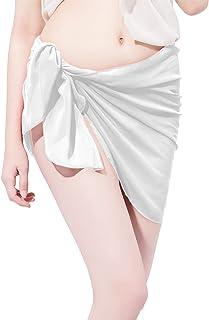 1aeb51a7dcbd3 LD DRESS Chiffon Cover up Swimwear Beach Sarong Pareo Canga Swimsuit Wrap