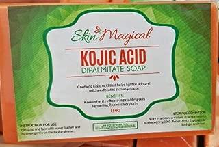 Skin Magical Kojic Acid Skin Lightening Soap, 150g - Exfoliating & Whitening