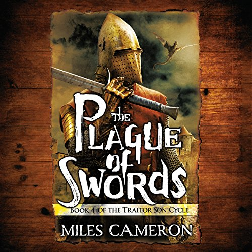 The Plague of Swords audiobook cover art