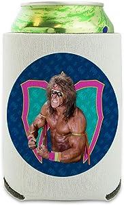 WWE Ultimate Warrior Flex Can Cooler - Drink Sleeve Hugger Collapsible Insulator - Beverage Insulated Holder