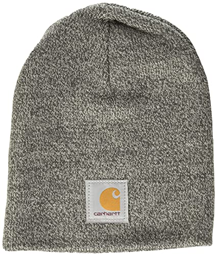 Carhartt Knit Hat Gorro, Heather Grey Coal Heather, One Size Unisex Adulto