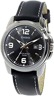 Casio Women's Leather Band Watch