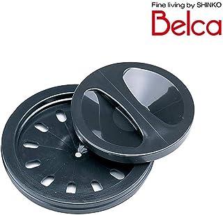 Belca(ベルカ) 流し用 菊割れゴム・止水フタセット ブラック SP-204