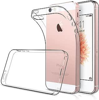 Simpeak [2Pcs] 2 Packs Funda Compatible con iPhone SE 5s 5, Funda Compatible con iPhone SE 5s 5 Carcasa Compatible con iPhone 5S / 5 / SE Funda Silicona TPU (4,0 Pulgadas), HD Clara