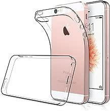 Simpeak [2pcs] 2 Packs Funda para iPhone SE 5s 5, Funda iPhone SE 5s 5 Carcasa iPhone 5S / 5 / SE Funda Silicona TPU (4,0 Pulgadas), HD Clara