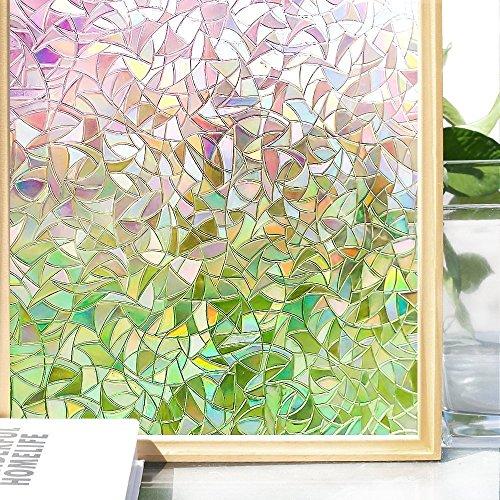Do4U 3D no-Glue Pegatina de película para Ventana de Cristal de privacidad...