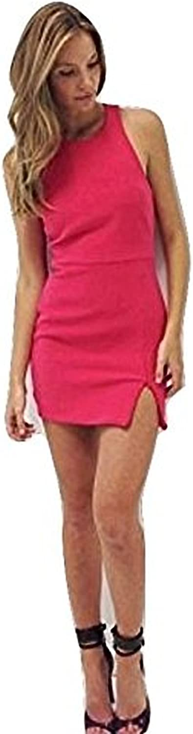 Bec & Bridge Pink Vida Ponte Mini Dress 2