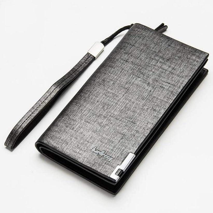 意見まつげかどうかファッション > メンズ > バッグ?財布 > 財布/Men Long Wallet Leather Zipper ID Credit Card Holder Money Purse Clutch Handbag