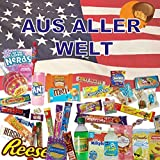 QueenBox Süssigkeiten aus aller Welt Großpackungen | 25 x Süßigkeiten Mix | USA Box | Asia, Russia, Arabic Schokolade  | Party Box | Snackbox | Candy Mix  asiatische snacks