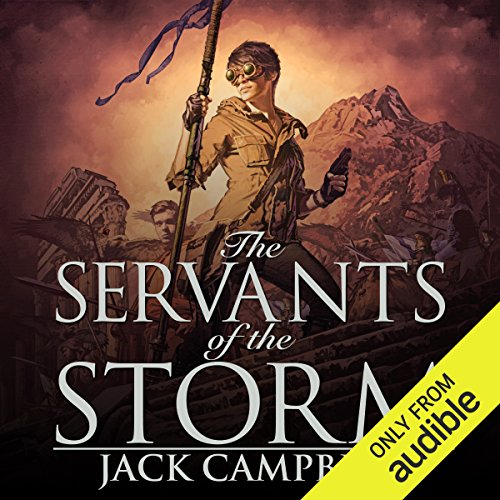 The Servants of the Storm audiobook cover art